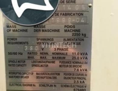 Вертикально-фрезерный станок с ЧПУ BROTHER TC 22 A