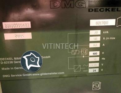 Вертикально-фрезерный станок с ЧПУ DECKEL MAHO DMC 64 V Linear
