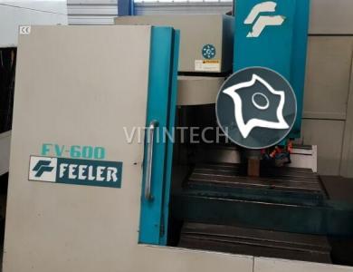 Вертикально-фрезерный станок с ЧПУ FEELER FV 600