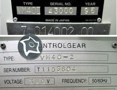 Вертикально-фрезерный станок с ЧПУ HITACHI SEIKI VM 40 II