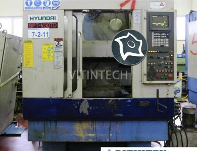Вертикально-фрезерный станок с ЧПУ Hyundai SPT-V30TD