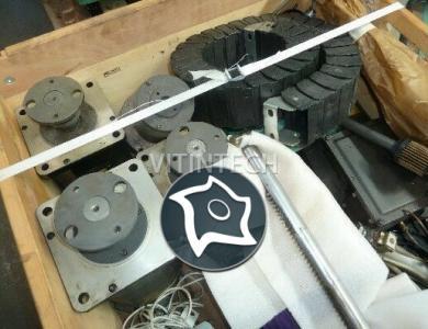 Вертикально-фрезерный станок с ЧПУ KIWA Palettenmaster 4