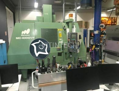Вертикально-фрезерный станок с ЧПУ Matsuura MC 1000 VF