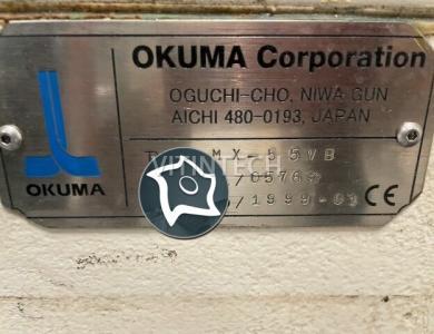 Вертикально-фрезерный станок с ЧПУ Okuma MX 55 VB