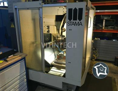 Вертикально-фрезерный станок с ЧПУ Stama MC 010