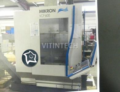 Вертикально-обрабатывающий центр с ЧПУ MIKRON VCP 600