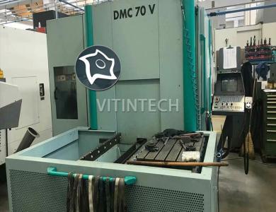 Вертикальный обрабатывающий центр с ЧПУ Deckel Maho DMC 70 V