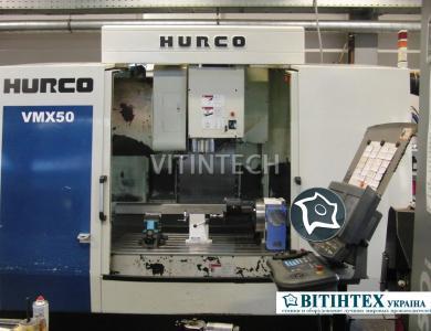 Вертикальный обрабатывающий центр с ЧПУ HURCO VMX 50