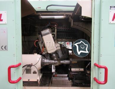 Зубошлифовальный станок с ЧПУ Kapp KX 1 L