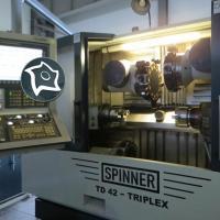 брабатывающий центр токарный с тремя револьверами SPINNER TD 42 Triplex