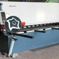 Гидравлические гильотинные ножницы с поворотным механизмом DURMA SBT 4013