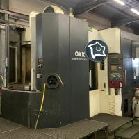 Горизонтально-фрезерный обрабатывающий центр с ЧПУ OKK HM 600