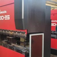 Листогибочный гидравлический пресс с ЧПУ AMADA PROMECAM HFB 80-25