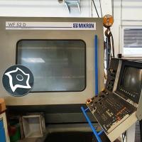 Универсально-фрезерный станок с ЧПУ Mikron WF 52 D
