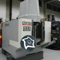 Вертикально-фрезерный станок с ЧПУ CHIRON FZ 12 S