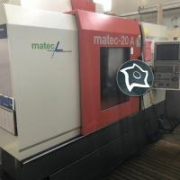 Вертикально-фрезерный станок с ЧПУ MATEC 20 A