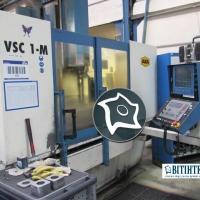 Вертикально-обрабатывающий станок с ЧПУ AXA VSC 1-MK