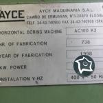 Горизонтально-расточной станок с ЧПУ AYCE AC 100 K 2