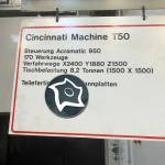 Горизонтальный обрабатывающий центр с ЧПУ CINCINATI T- Magnum 800