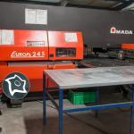 Координатно-пробивной пресс с ЧПУ Amada Europe 245