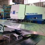 Координатно-пробивной пресс с ЧПУ Trumpf Trumatic TC 500 1300