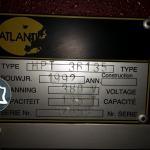 Листогибочный гидравлический пресс с ЧПУ Atlantic HPT 36135