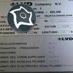 Листогибочный гидравлический пресс с ЧПУ LVD PPEB 220/50