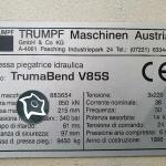 Листогибочный гидравлический пресс с ЧПУ Trumpf V 85 s