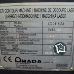 Станок для лазерной резки Amada LC 2415 ALPHA III