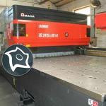 Станок лазерной резки Amada LC 2415 Alpha IV NT - 4 кВт
