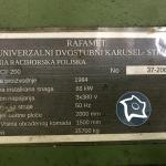Токарно-карусельный станок Rafamet KCF 200