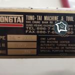 Токарный станок с ЧПУ Tongtai TNL-100TL