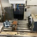 Вертикально-фрезерный станок с ЧПУ Spinner VC 800
