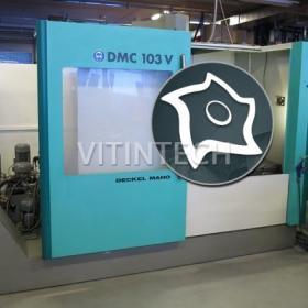 Вертикально-фрезерный обрабатывающий центр DMG Deckel Maho DMC 103 V