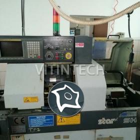 Автомат продольного точения с ЧПУ STAR SH 12