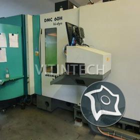 Горизонтально-фрезерный обрабатывающий центр с ЧПУ Deckel Maho DMC 60 H hi-dyn