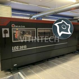 Станок лазерной резки Amada LCG 3015 - 3,5 кВт