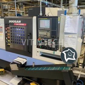 Токарно-фрезерный обрабатывающий центр c ЧПУ DOOSAN Lynx 220 LMSC