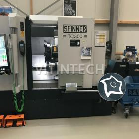 Токарно-фрезерный обрабатывающий центр c ЧПУ Spinner TC 300-52 SMCY