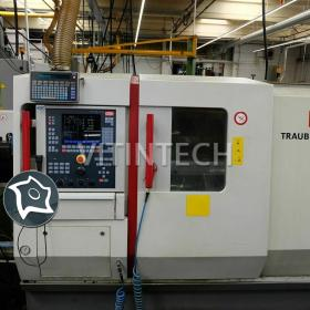 Токарно-фрезерный обрабатывающий центр c ЧПУ Traub TNC 65