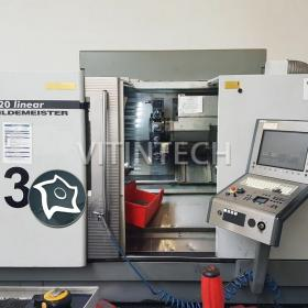 Токарно-фрезерный станок с ЧПУ Gildemeister CTX 420 linear