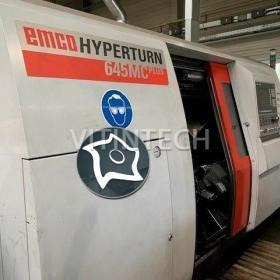 Токарный обрабатывающий центр с осью Y с ЧПУ EMCO Hyperturn 645 MC Plus