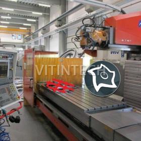 Универсально-фрезерный станок с ЧПУ MTE BF 2700