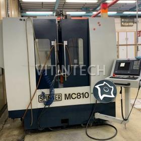 Вертикально-фрезерный обрабатывающий центр с ЧПУ SPINNER MC 810