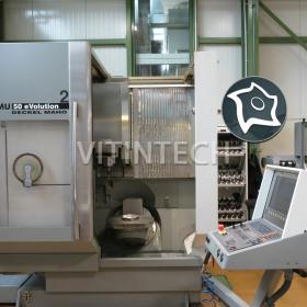Вертикально-фрезерный станок с ЧПУ Deckel Maho DMU 50 eVolutionВертикально-фрезерный станок с ЧПУ Deckel Maho DMU 50 eVolution