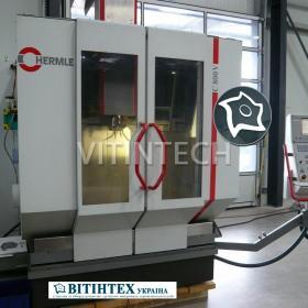 Вертикально-фрезерный станок с ЧПУ Hermle C 800 V