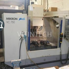 Вертикально-фрезерный станок с ЧПУ MIKRON VC 750