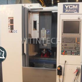 Вертикально-фрезерный станок с ЧПУ YCM XV 560A