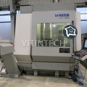 Вертикальный обрабатывающий центр Mikron VCP 1000