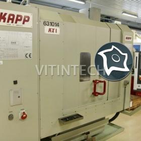 Зубошлифовальный станок с ЧПУ KAPP KX 1
